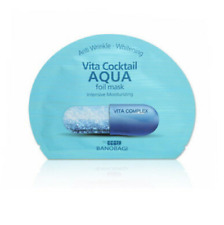 BanoBagi Vita Cocktail Aqua Foil Mask 1Pack 30ml X 10 Sheets