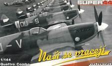 eduard Spitfire Mk.IXc 4 Modelli 8 Versioni Quattro1:144 Modello Kit Kit