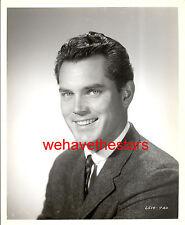 Vintage Jeffrey Hunter QUITE HANDSOME GORGEOUS EYES '50s Publicity Portrait