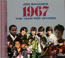 "JON SAVAGE'S 1967  ""THE YEAR POP DIVIDED - 48 TRACKS""  CD"