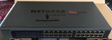 USED NetGear ProSafe Plus JGS524E 24 Ports Rack-mountable Ethernet Switch