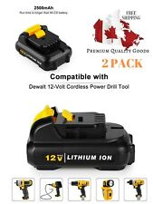 Power-Ing 2.5Ah 12V Max Lithium Ion Replacement Battery for Dewalt DCB120 DCF610
