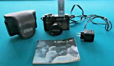 Yashica Electro 35Camera W/Color Yashinon 1:1.7 F=45 W/Case,Flash,Charger,Manual