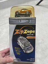2003 Radioshack Zip Zaps Micro Rc Car Nissan 350Z Bronze 1:64