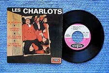 LES CHARLOTS / EP VOGUE EPL. 8655 / BIEM 1968 ( F )