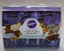 Wilton Cortadores de galletas set moldes Arca Noé Pequeño Diversión tamaño NUEVO