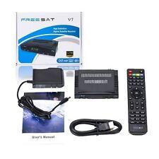 Freesat V7 HD Satellite TV Receiver DVB-S2 1080P Support USB Wifi Set Top Box++