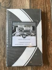 Hotel Collection Two Standard Pillowshams Transom Nwt