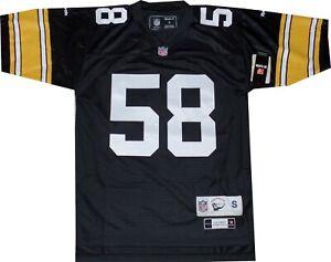 Pittsburgh Steelers Jack Lambert Premier Throwback Reebok Jersey NEW SMALL 7072A