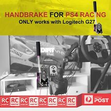 BLACK Logitech G27 Handbrake for PS4 RACING GAMES with Free Clamp