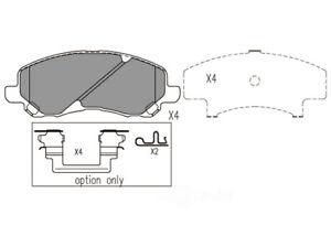 Disc Brake Pad Set-Premium Ceramic Pads Front Dash 4 Brake CFD866