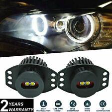 20W XML Chip Angel Eyes LED Halo Ring Lights For 2006-2008 E90 E91 Pre-Facelift