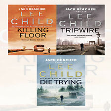 Jack Reacher Series (1,2,3) by Lee Child 3 Books Collection Set NEW BRAND UK