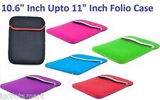 10.6 Pulgadas Slim de Neopreno Suave PC Tablet Case Ajuste Universal