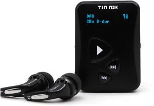 Tin-Nik DAB-398S Personal Portable DAB/DAB/FM Radio, Pocket Digital RDS FM Mini