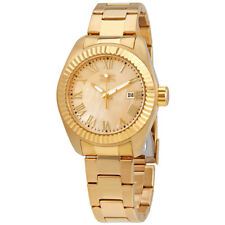 Invicta Angel Champagne Dial Gold-plated Ladies Watch 20316
