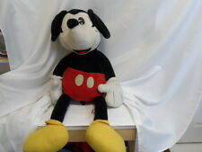 "VINTAGE JUMBO 36"" MICKEY MOUSE PLUSH STUFF TOY DOLL 3 FT (8926-1)"