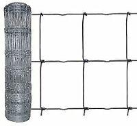 rotolo rete pastorale in acciaio zincato cm h 140x50 mt per pecore capre gregge