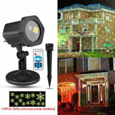 R&G Star Christmas Laser Projector Lights Show Indoor Outdoor House Decoration
