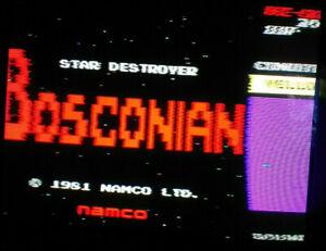 *** Bosconian Namco Arcade PCB Non jamma 1981 ***