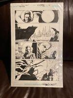 Batman 694 Page 16 Tony Daniel Signed Original Art 🔥🔥🔥hot Artist