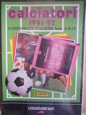 ALBUM PANINI Calciatori Ristampa GAZZETTA anno 1991-92 con bustine [GS43]