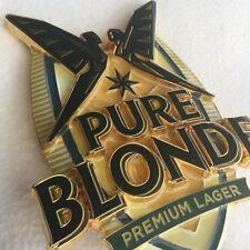 PURE BLONDE PREMIUM LAGER METAL BADGE Beer Tap Top