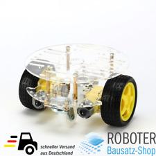 2WD Smart Car Chassis Plattform für Arduino Roboter mit Batteriebox und Motoren