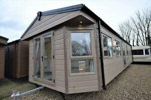 2022 Sunrise Lodge 'Oak Tree' 40x13   2 bed Mobile Lodge   Annexe with Wet Room