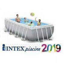 Intex 26796 Piscine Hors-Sol  Rettangolare E Prism Frame 503 X 274 X 122 Cm