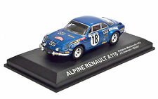 ALPINE RENAULT A110 - RALLYE DE MONTECARLO 1973 J-C. ANDRUET-BICHE - SCALA 1:43