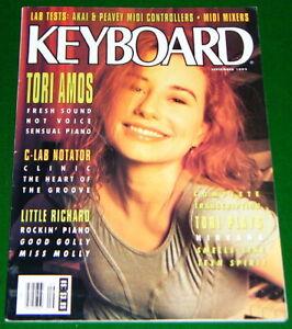 TORI AMOS Plays NIRVANA, Wendy Carlos DPM C8, Akai MX1000 1992 KEYBOARD Magazine