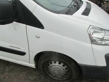 2007 CITROEN DISPATCH GENUINE COMPLETE OS DRIVERS WING IN WHITE