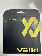 Volkl Cyclone Tennis String Black 16 Gauge/ 1.30 mm
