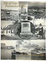 1970 Original Menu PROVINCETOWN INN & MOTEL Cape Cod Tip Massachusetts