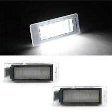 White LED Light Rear License Plate Frame Bulbs Pair Fits: 2010-2013 GMC Terrain