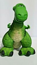 """Disney Pixar Fisher Price """"Toy Story"""" """"Rex"""" Squeeze it/He Roars / 14"""" Pre-Owned"""
