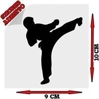 Sticker Adesivo Decal Karate Sport Arte Marziale 1 Tuning Auto Moto