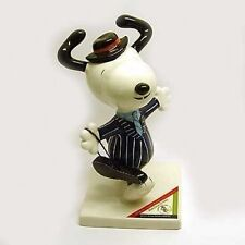 Peanuts Snoopy Baby-Face Statue Gangster Figure