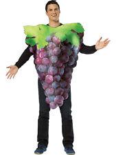 Raisins Violet Adulte Tenue Costume Robe fantaisie fruits homme femme gents pour femme
