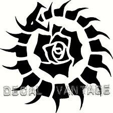 Ouroboros Bone Dragon Rose Circle Vinyl Sticker Decal Pagan Choose Size & Color