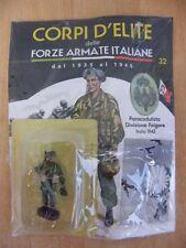 CORPI D'ELITE 32 PARACADUTISTA DIVISIONE FOLGORE ITALIA 1942 SOLDATINO