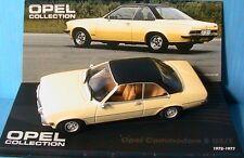 OPEL COMMODORE B GS-E 1972 1977 YELLOW LIGHT IXO 1/43 ALTAYA JAUNE CLAIR LH