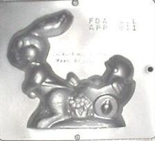 Lapin Charrette Confiserie Chocolat Moule de Pâques 811 Neuf