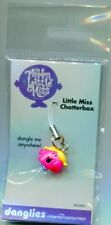 LITTLE MISS CHATTERBOX DANGLY-MOBILE CHARM(MR MEN)