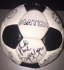 Signed Retro Liverpool Football 1981 Ball Team Dalglish Paisley Hansen Thompson