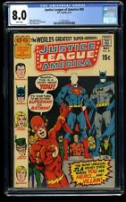 Justice League of America #89 CGC VF 8.0 White Pages DC Comics