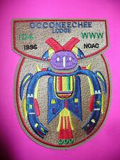 OA Occoneechee Lodge 104, 1996 NOAC, Two Part Set, T-Bird,Camp Durant,Council,NC