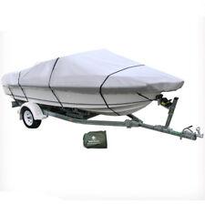 20-22 ft Trailerable Marine Boat Cover 6.1-6.7M Rain Sun UV Half Cabin 20008008