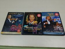 Andre Rieu 3 Dvd Set, under the stars, life is beautiful, live in vienna